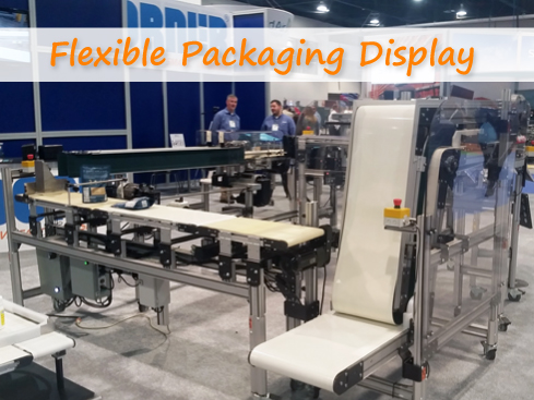 Flexible Packaging Display at Expo