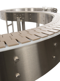 AquaGard 7100 Series Conveyor with standard chain