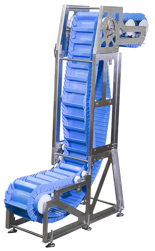 AquaPruf 7600 VBT sanitary vertical conveyor belt