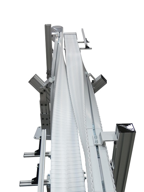 SmartFlex with FlexMove Technology conveyor turning perpendicular